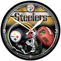 Wincraft Pittsburgh Steelers Round Wall Clock