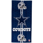 Dallas Cowboys 30'' x 60'' Fiber Reactive Beach Towel by WinCraft