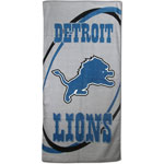 Detroit Lions 30'' x 60'' Fiber Reactive Beach Towel by McArthur
