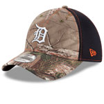 Detroit Tigers Realtree Camo Neo 39THIRTY Stretch Fit Hat by New Era