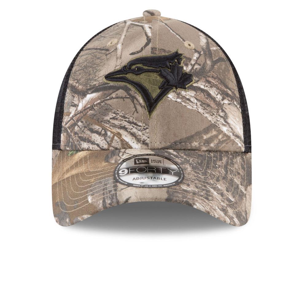 Toronto Blue Jays Realtree Trucker 9FORTY Adjustable Hat by New Era ... 3775b3c1dfad