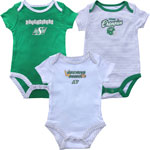 Saskatchewan Roughriders Newborn 3rd Down 3-Piece Creeper Set by Outerstuff