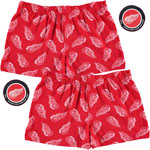 Detroit Red Wings 2-Pack All-Over Print Puck Packaged Boxer Shorts by Vayola