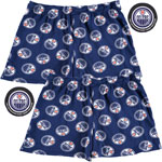 Edmonton Oilers 2-Pack All-Over Print Puck Packaged Boxer Shorts by Vayola