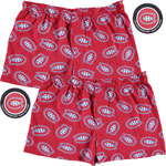 Montreal Canadiens 2-Pack All-Over Print Puck Packaged Boxer Shorts by Vayola
