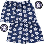 Toronto Maple Leafs 2-Pack All-Over Print Puck Packaged Boxer Shorts by Vayola