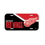Wincraft Detroit Red Wings Plastic License Plate