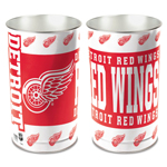 Wincraft Detroit Red Wings Metal Garbage Can