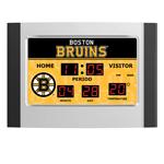IAX Sports Boston Bruins Scoreboard Alarm Clock