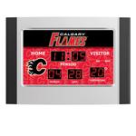 IAX Sports Calgary Flames Scoreboard Alarm Clock