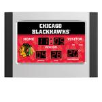 IAX Sports Chicago Blackhawks Scoreboard Alarm Clock