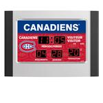 IAX Sports Montreal Canadiens Scoreboard Alarm Clock