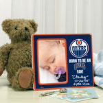 Edmonton Oilers Born To Be Picture Frame by The Memory Company