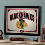 The Memory Company Chicago Blackhawks Framed Mirror