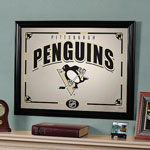 The Memory Company Pittsburgh Penguins Framed Mirror
