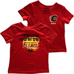 Calgary Flames Infant I Never Had The Choice Fan Tee by Reebok