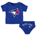 Toronto Blue Jays Newborn Mini Uniform Set by Majestic