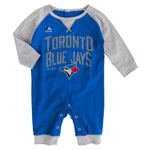 Toronto Blue Jays Newborn Proud Fan Romper by Majestic