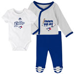 Toronto Blue Jays Newborn Future Champ Bodysuit, Shirt, and Pants Set by Majestic