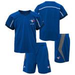 Toronto Blue Jays Infant Legacy T-Shirt and Short Set by Majestic