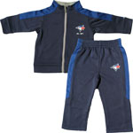 Toronto Blue Jays Toddler Ball Boy Zip-Up Jacket & Pant Set by Majestic
