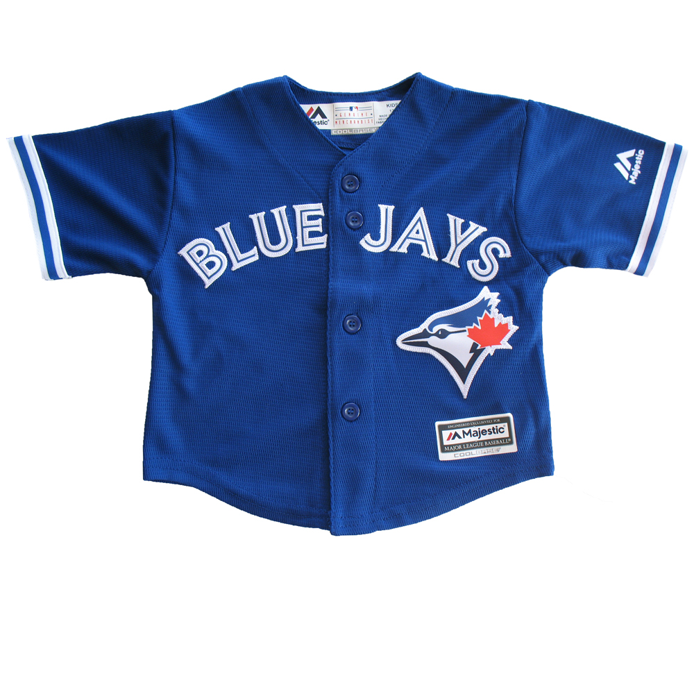 0a41b7e6c TheSportsDen.ca  Toronto Blue Jays Baby Alternate Jersey by Majestic