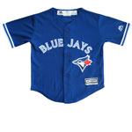 Toronto Blue Jays Toddler Cool Base Replica Alternate Jersey by Majestic