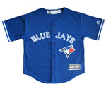 Toronto Blue Jays Preschool Cool Base Replica Alternate Jersey by Majestic