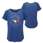 Toronto Blue Jays Youth Girls Dugout Diva T-Shirt by Outerstuff