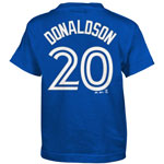 Toronto Blue Jays Josh Donaldson Preschool Player Name and Number T-Shirt by Majestic