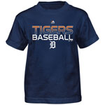 Detroit Tigers Youth Game Winning Run T-Shirt by Majestic