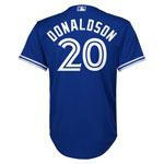 Toronto Blue Jays Youth Josh Donaldson Cool Base Replica Alternate Jersey by Majestic