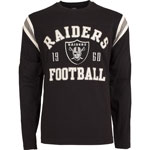 Oakland Raiders Men's Lateral Long Sleeve T-Shirt by Old Time