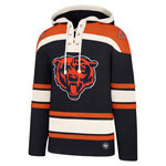 Chicago Bears Lacer Pullover Fleece Hoodie by '47