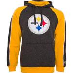 Pittsburgh Steelers Merciless Pullover Fleece Hoodie by Old Time