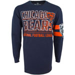 Chicago Bears Men's Bandit Long Sleeve T-Shirt by Old Time