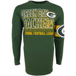Green Bay Packers Men's Bandit Long Sleeve T-Shirt by Old Time