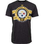 Pittsburgh Steelers Men's Huddle T-Shirt by Old Time