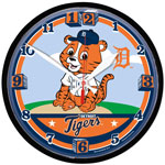 Detroit Tigers Littlest Fan Wall Clock by Wincraft