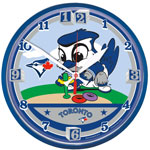 Toronto Blue Jays Littlest Fan Wall Clock by Wincraft