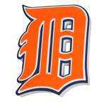Detroit Tigers EVA Foam 3D Wall Sign by Foamheads