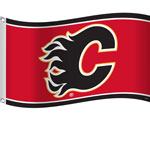Calgary Flames 3'x5' Flag by Sports Vault