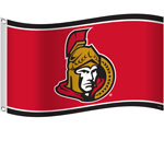 Ottawa Senators 3'x5' Flag by Sports Vault