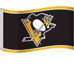 Pittsburgh Penguins 3'x5' Flag by Sports Vault