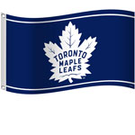 Toronto Maple Leafs 3'x5' Flag by Sports Vault