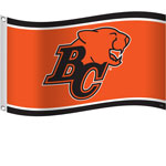 BC Lions 3'x5' Flag by Sports Vault