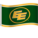 Edmonton Eskimos 3'x5' Flag by Sports Vault