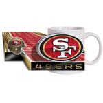 Hunter Manufacturing San Francisco 49ers 11oz. Sublimated Coffee Mug