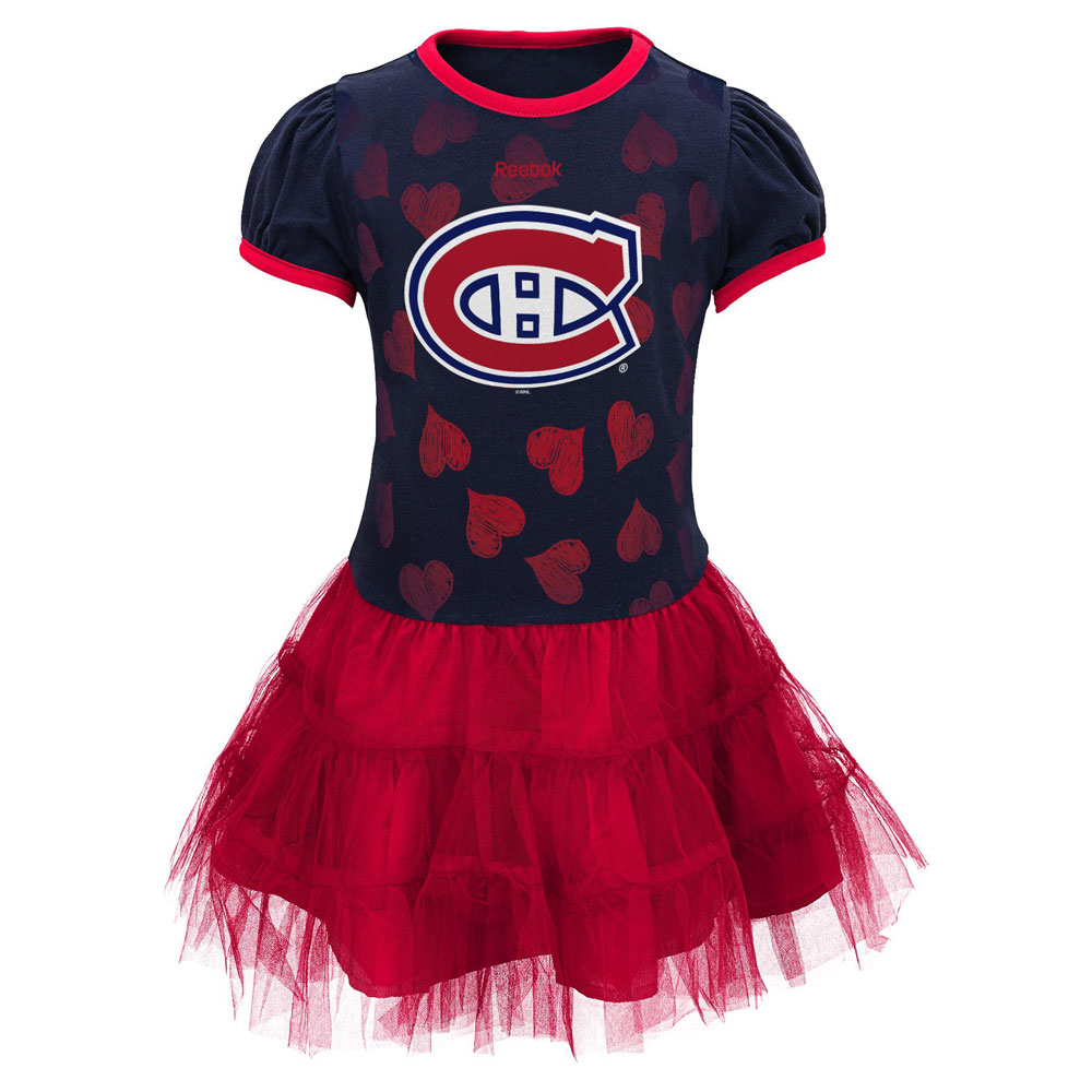 new product 37c79 70322 Montreal Canadiens Infant Girls Love To Dance Tutu Dress by Reebok