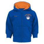 Edmonton Oilers Infant Pledge Full-Zip Fleece Hoodie by Reebok